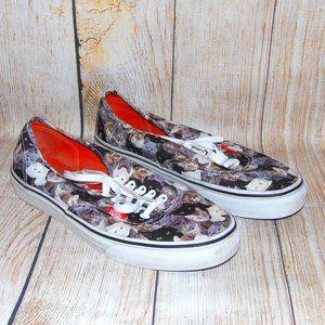 VANS Authentic ASPCA Cats Sneakers Womens Size 10